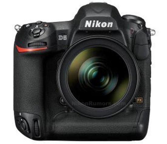 Nikon-D5-fron-image-leaked