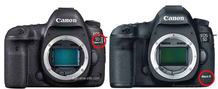 Canon 5D Mark IV vs Canon 5D Mark III
