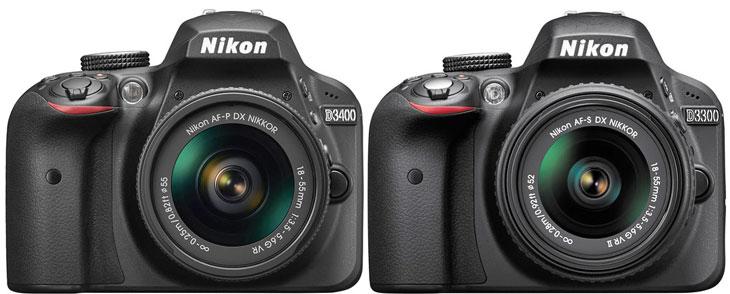 Nikon D3400 vs Nikon D3000 image
