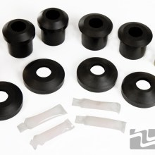 MM Rear Lower Control Arm Bushings, urethane, 2005-2014 Mustang
