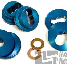 MM Steering Rack Bushings, Solid, 1979-04 Mustang with MM K-member
