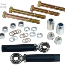 MM Bumpsteer kit, 1979-93 Mustang with SN95 control arms, bolt-through style