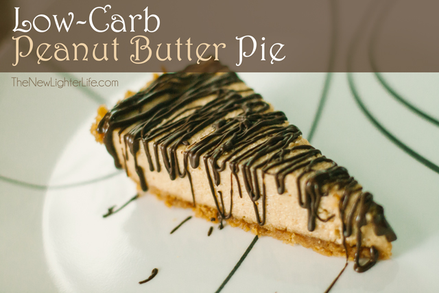 Low Carb Peanut Butter Pie ~ Trim Healthy Mama (S)