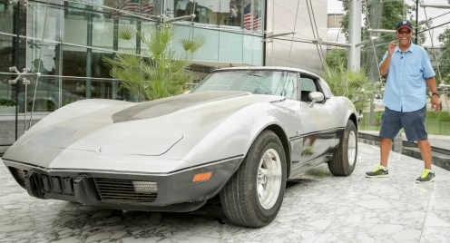 George Talley's Corvette