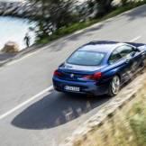 2016 BMW 6 Series Rear Above