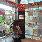 Kentucky-Toyota-Plant-Tour-company-display