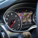 2016 Audi A7 gauges