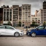 2016 Chevrolet Sonic Sedan and Hatchback