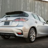 2016 Lexus CT Hybrid exterior behind