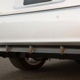 2016 Lexus CT Hybrid rear bumper