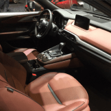 Mzda CX-9 Auburn Napa leather