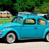 Blue VW Beetle Lego Set 10252 real car