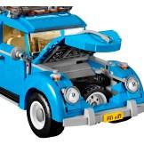 Blue VW Beetle Lego car set 10252 hood