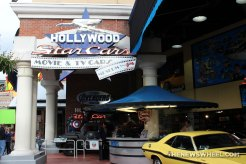 Hollywood Star Cars Museum Gatlinburg Attraction review information famous movie TV vehicles entrance