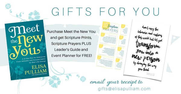 Gifts for You with Purchase of Meet the New You