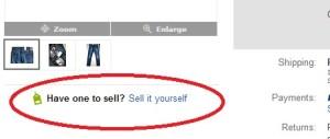 ebay sell