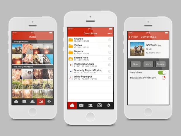 Kim Dotcom's Mega cloud storage App now available on iOS