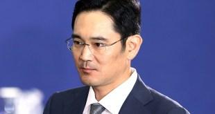 Lee Jae-yong, Samsung heir, wearing glasses