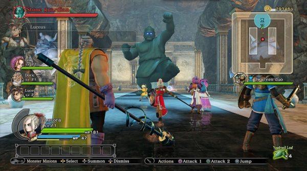 Dragon Quest Heroes screenshot