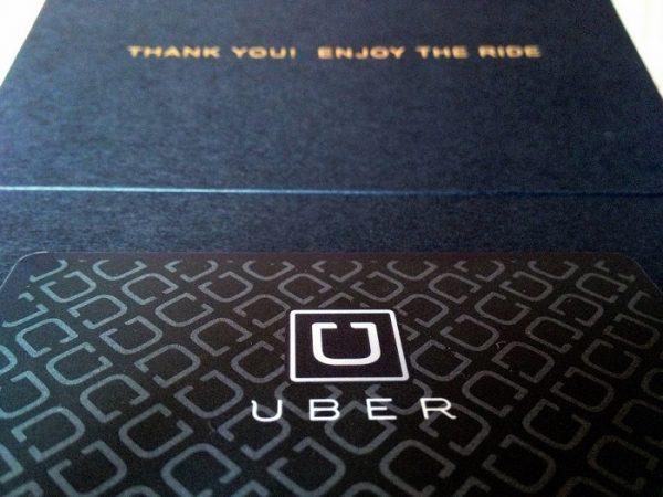 An Uber card