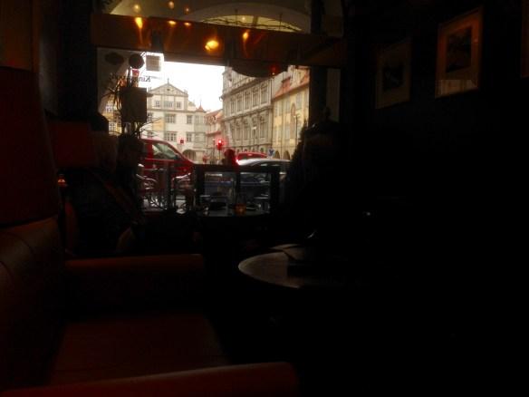 Mala Strana cafe.