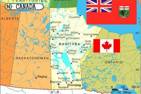 Manitoba Political Map Image Collections Diagram Writing Sample - Manitoba map