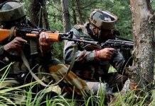 gunfight underway between militants and security forces in Kashmir's Kupwara