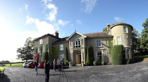 We will never be Royals but we can live in Bansha Castle