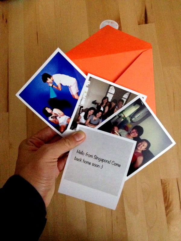 Print some polaroid memories with Printic
