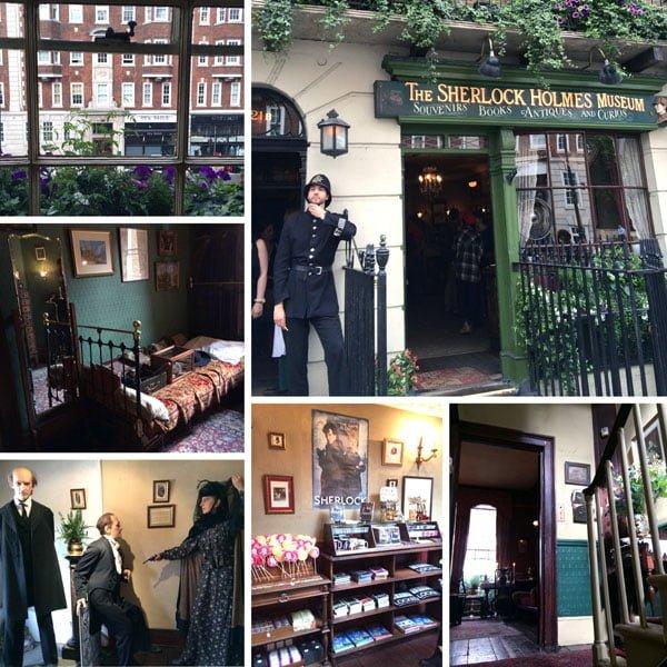 London Work Trip - 221B Baker St