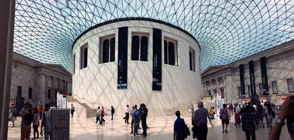 London Work Trip - British Museum Atrium