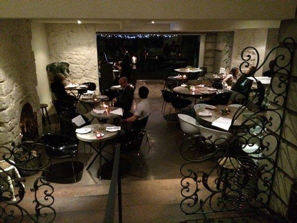 Daylesford Frangos Jimmys Bar Dining Room