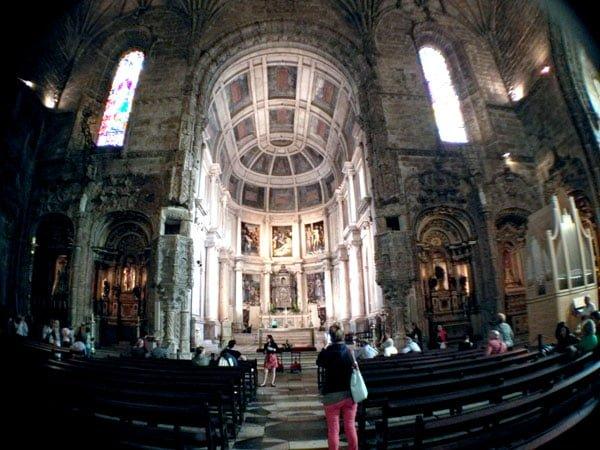 Portugal - Lisbon Belem Monastery Church