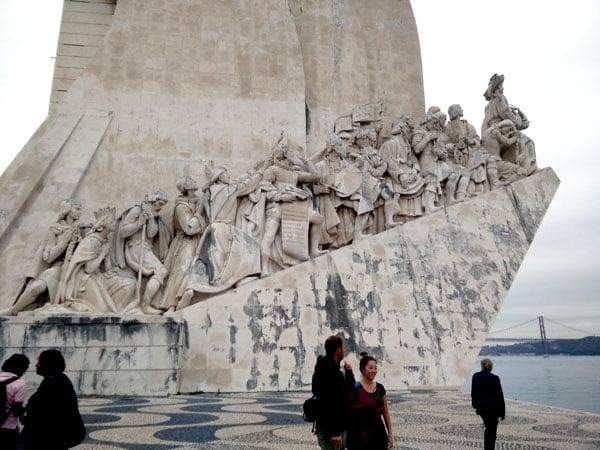 Portugal - Lisbon Belem Monument Side
