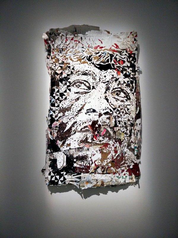 Portugal - Lisbon Belem Vhils Exhibition Art
