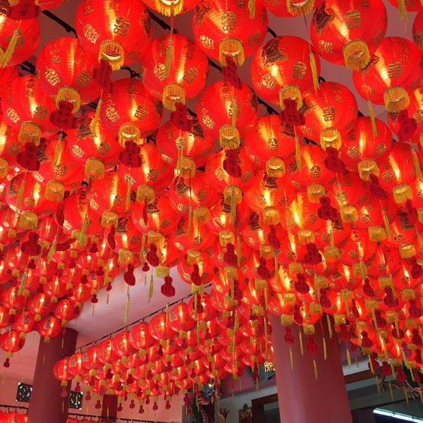 Dawson-Alexandra Trail - Tiong Ghee Temple Lanterns
