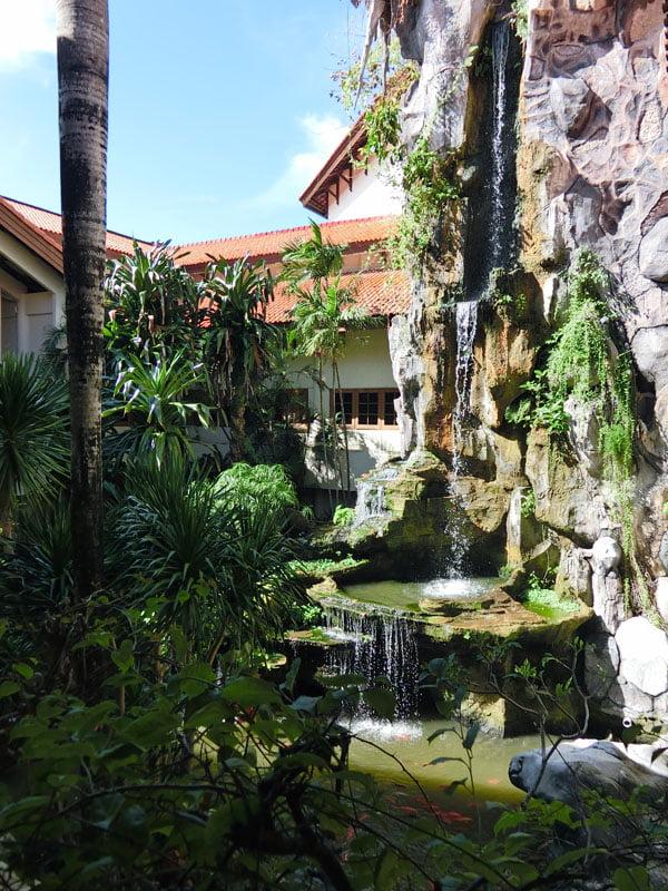 Bali Grand Mirage Resort Waterfall