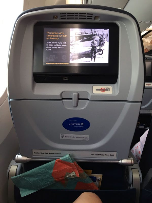 United Airlines - Inflight Entertainment