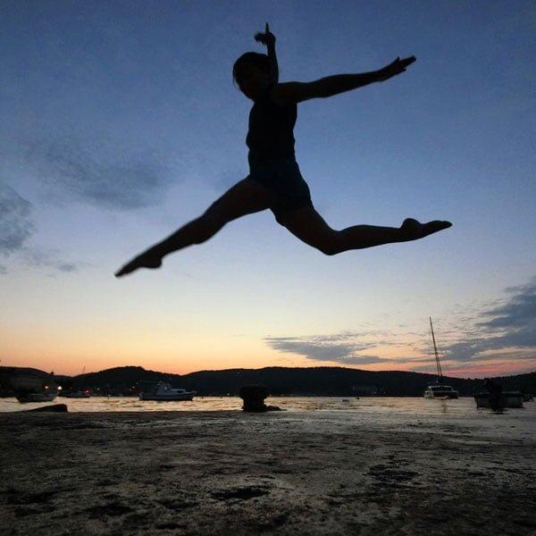 Croatia Vis Sunset Jumpshot