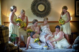 Marni and Scott Wedding in Mono Ontario Photography and Video at Home