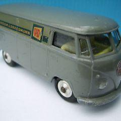 corgi toy nr.433 volkswagen delivery van 'vroom&dreesmann'