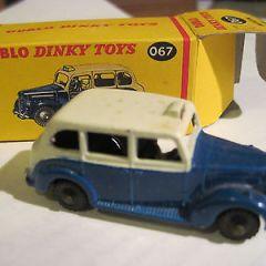 Dublo dinky toys Austin Taxi diecast boxed, ref 067 OO/HO