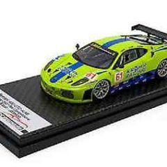 1/43 tecnomodel FERRARI F430 KROHN RISI Racing 2007 Sebring GT2 #61 ALMS IMSA GT