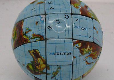 RUBIK'S CUBE-TYPE PUZZLE.. THE WORLD / GLOBE Late 1980's