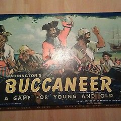 VINTAGE WADDINGTON'S  BUCCANEER BOARD GAME, VGC, RARE.
