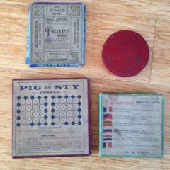 13 Vintage Victorian Dexterity Puzzles – similar to RJ Journet Series
