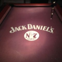 Pool Table 7 foot pub size slate bed coin operated