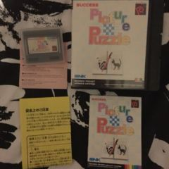 Snk Neo Geo Pocket Game. Picture Puzzle. Uk Rare And Complete