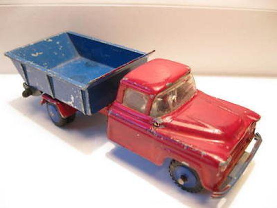 vilmer-denmark-chevrolet-6400-tipper-very-rare-item-w-plastic-wheels-1957-17464