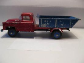 vilmer-denmark-chevrolet-6400-tipper-very-rare-item-w-plastic-wheels-1957-17468